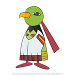 How to Draw Xatu from Pokemon