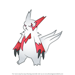 How to Draw Zangoose from Pokemon