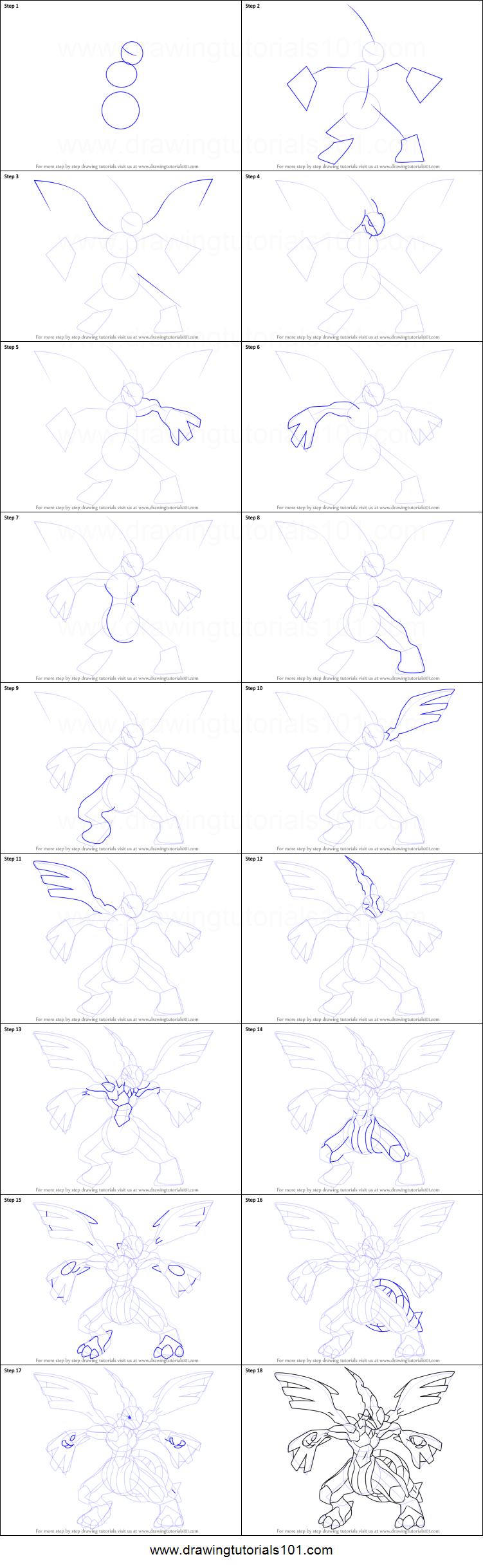 How to draw zekrom from pokemon printable step by step drawing how to draw zekrom from pokemon ccuart Images