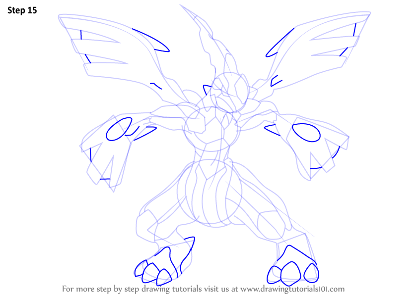 Pokemon zekrom outline images pokemon images how to draw zekrom from pokemon ccuart Images