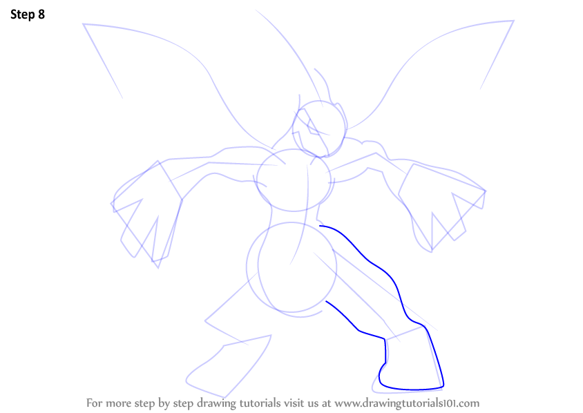 Learn how to draw zekrom from pokemon pokemon step by for How to make doodle art
