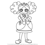 How to Draw Himeko Shirogane from Powerpuff Girls Z