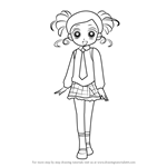 How to Draw Miyako Gotokuji from Powerpuff Girls Z