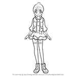 How to Draw Aino Megumi from Pretty Cure