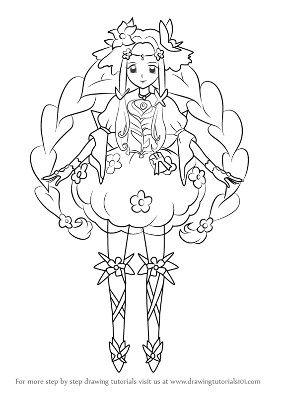 Learn How To Draw Cure Felice From Pretty Cure Pretty
