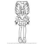 How to Draw Cure Lemonade from Pretty Cure