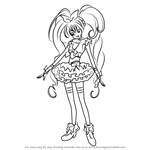 How to Draw Cure Melody from Pretty Cure