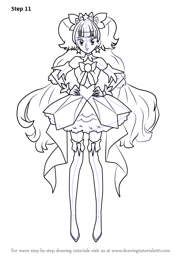 Learn How To Draw Cure Twinkle From Pretty Cure Pretty
