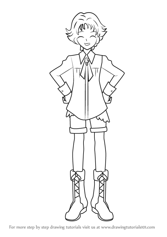 Learn How To Draw Natsuki Rin From Pretty Cure Pretty