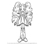 How to Draw Shiny Luminous from Pretty Cure
