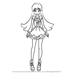 How to Draw Shirayuki Hime from Pretty Cure
