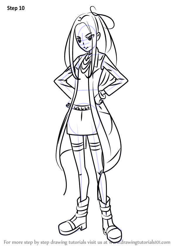 Learn How To Draw Siren From Pretty Cure Pretty Cure