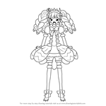 How to Draw Gaaruru from PriPara