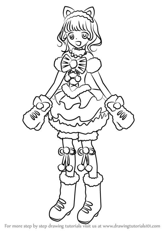 Learn How To Draw Pepper Taiyou From Pripara Pripara