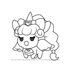 How to Draw Unicorn from PriPara
