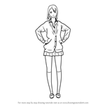 How to Draw Anzu Yokoyama from Prison School