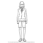 How to Draw Hana Midorikawa from Prison School