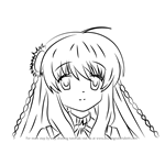 How to Draw Kotori Kanbe from Rewrite