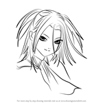 How to Draw Akua Shuzen from Rosario + Vampire