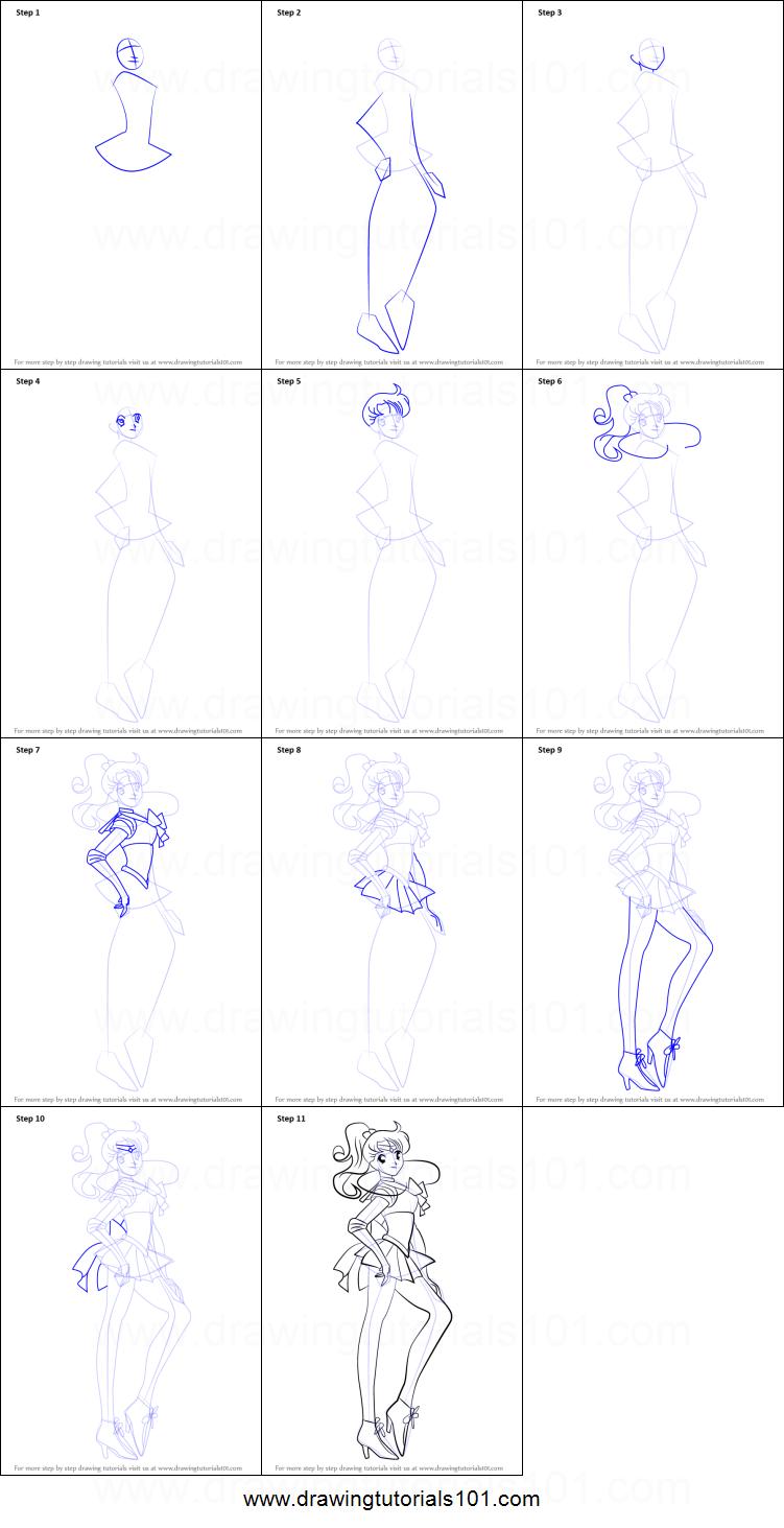 how to draw sailor uranus