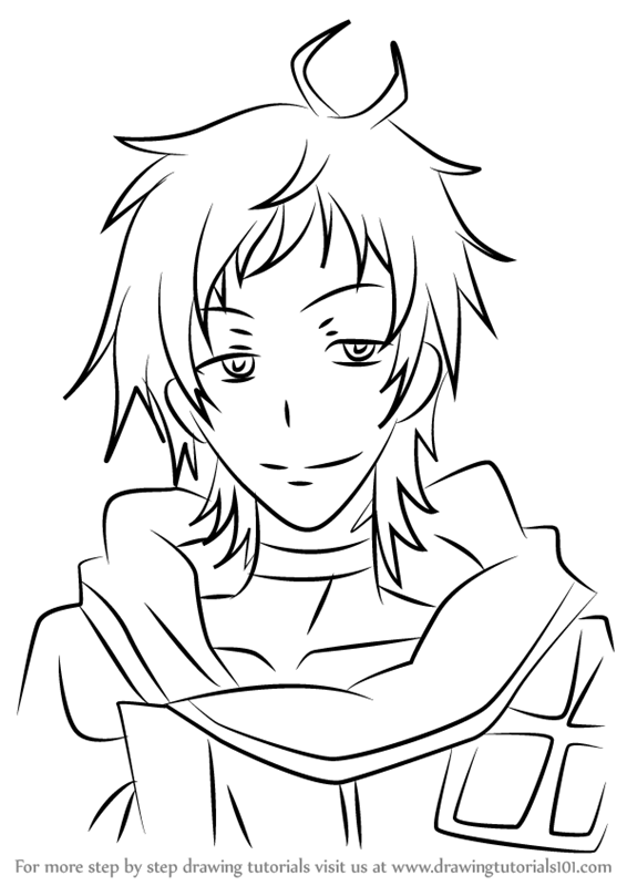 Learn How To Draw Tsurugi Kamiya From Servamp Servamp