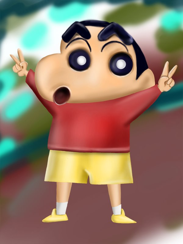 Learn How To Draw Shin Chan Shin Chan Step By Step Drawing Tutorials