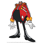 How to Draw Doctor Eggman from Sonic X