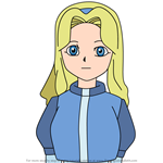 How to Draw Maria Robotnik from Sonic X