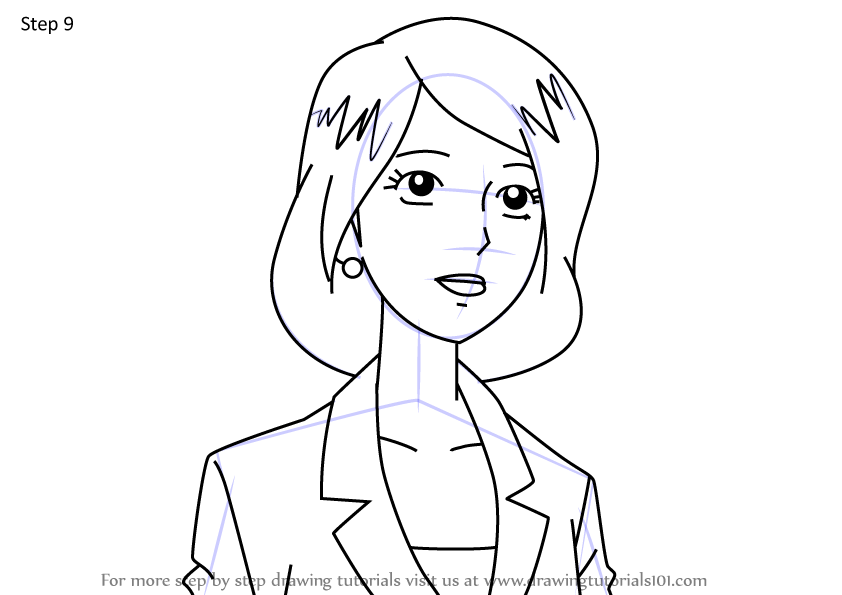 Learn How to Draw Scarlet Garcia from Sonic X (Sonic X ...