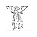 How to Draw Astraea from Sora no Otoshimono