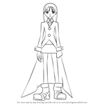 How to Draw Maka Albarn from Soul Eater