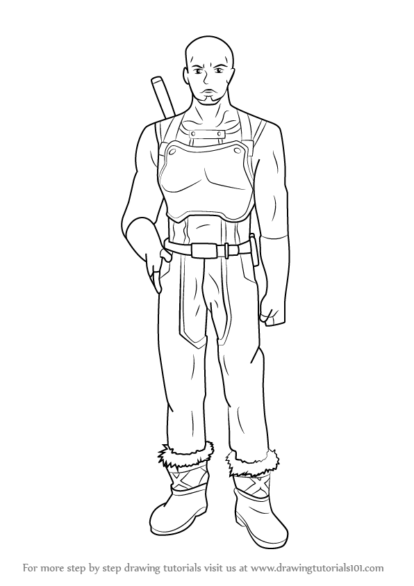 Learn How To Draw Agil From Sword Art Online Sword Art