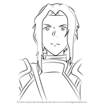 How to Draw Diabel from Sword Art Online