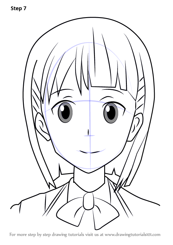 Learn How to Draw Kirigaya Suguha from Sword Art Online