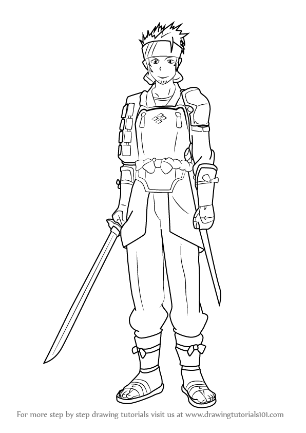 how to draw two swords