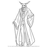 How to Draw Elias Ainsworth from The Ancient Magus' Bride