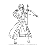 How to Draw Alfreed from The Heroic Legend of Arslan