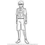 How to Draw Ken Kaneki from Tokyo Ghoul