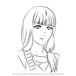 How to Draw Ryouko Fueguchi from Tokyo Ghoul