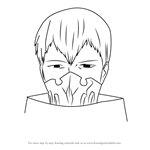 How to Draw Tatara from Tokyo Ghoul