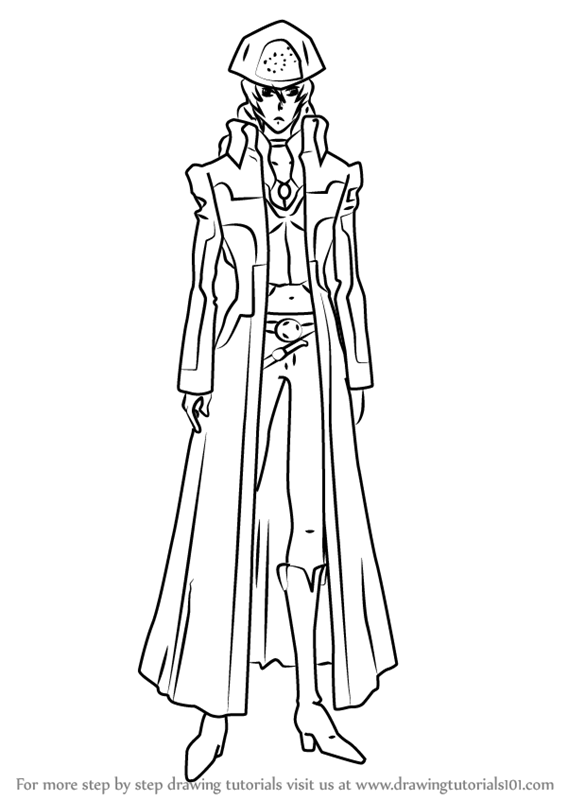 trigun coloring pages | Learn How to Draw Amelia from Trigun (Trigun) Step by Step ...