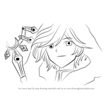 How to Draw Fai D. Flowright from Tsubasa Chronicle