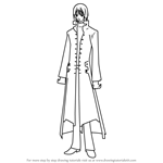 How to Draw Ichiru Kiryuu from Vampire Knight