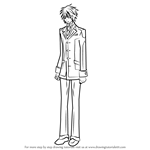 How to Draw Senri Shiki from Vampire Knight