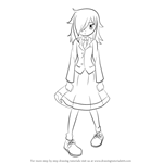 How to Draw Tomoko Kuroki from WataMote