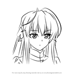 How to Draw Sora Kasugano from Yosuga no Sora