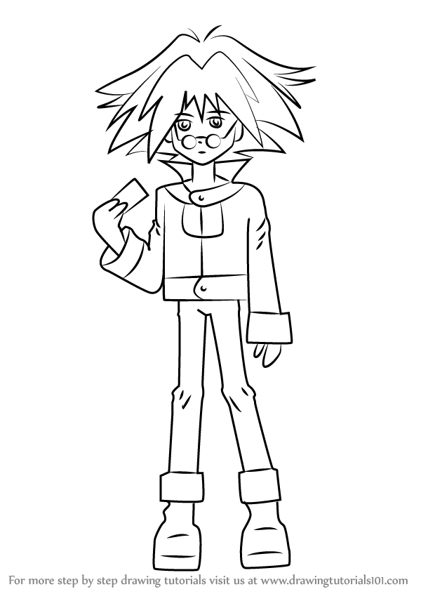 Learn how to draw syrus truesdale from yu gi oh gx yu gi oh gx learn how to draw syrus truesdale from yu gi oh gx yu gi oh gx step by step drawing tutorials ccuart Gallery