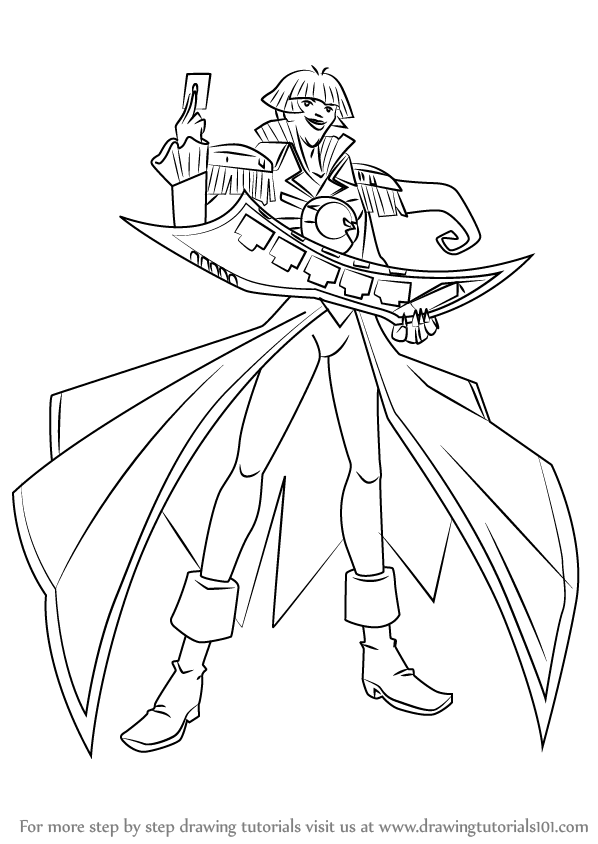 yugioh gx coloring pages - photo#39