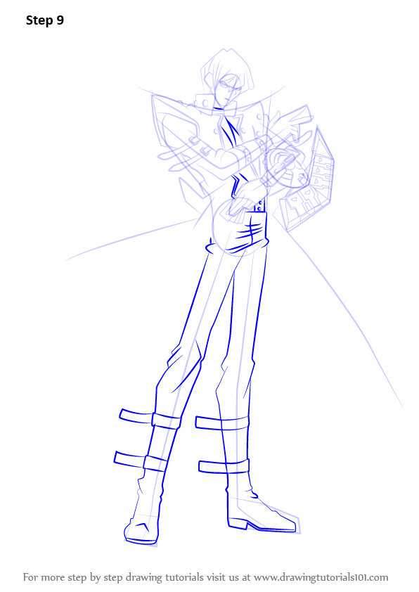learn how to draw seto kaiba from yu