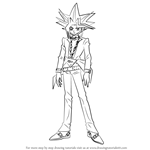 How to Draw Yugi Muto from Yu-Gi-Oh!